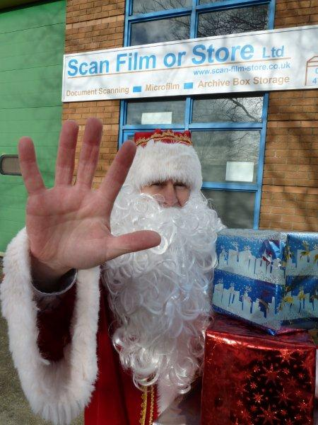 Is this Santa Claus operating in Bridgwater, Somerset?