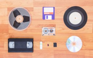 Various digital and analogue formats