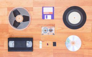 Various digital and analogue formats