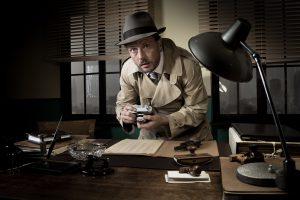 Old fashioned spy