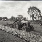 Old photograph of Tractor