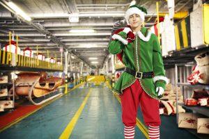 Christmas admin elf
