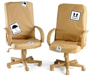 Wrapped chairs - office move - scan film or store