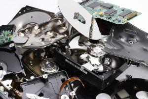 Melted hard drives - Scan Film or Store - Electronic data destruction - how not to get caught out
